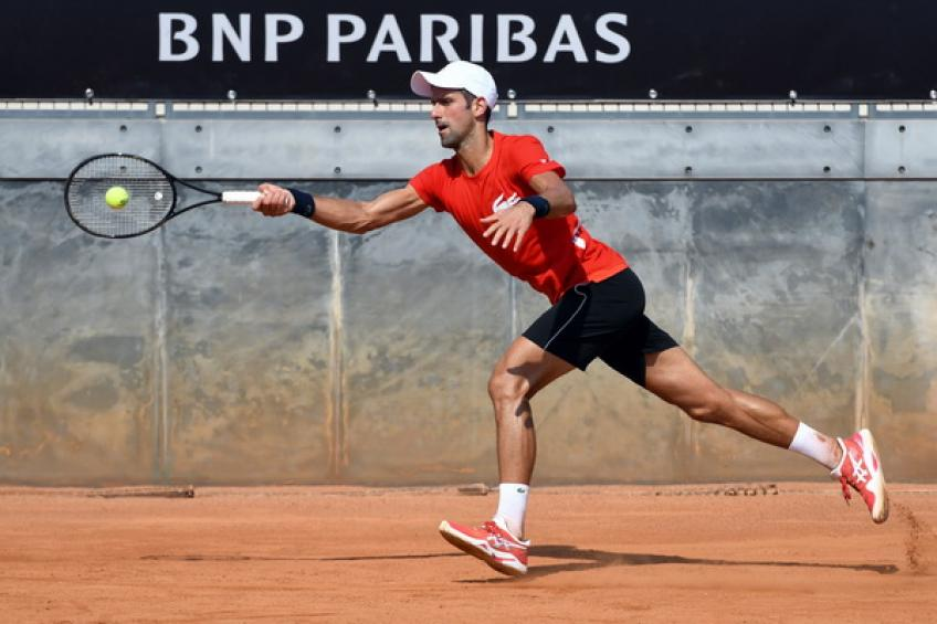 ATP Rome: Novak Djokovic edges Filip Krajinovic to reach quarters