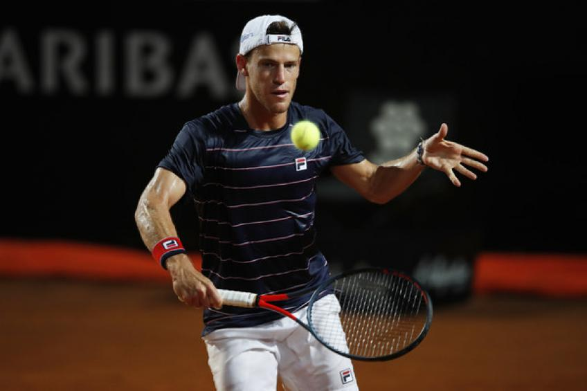 Diego Schwartzman: 'I had chances against Novak Djokovic but he was too good'