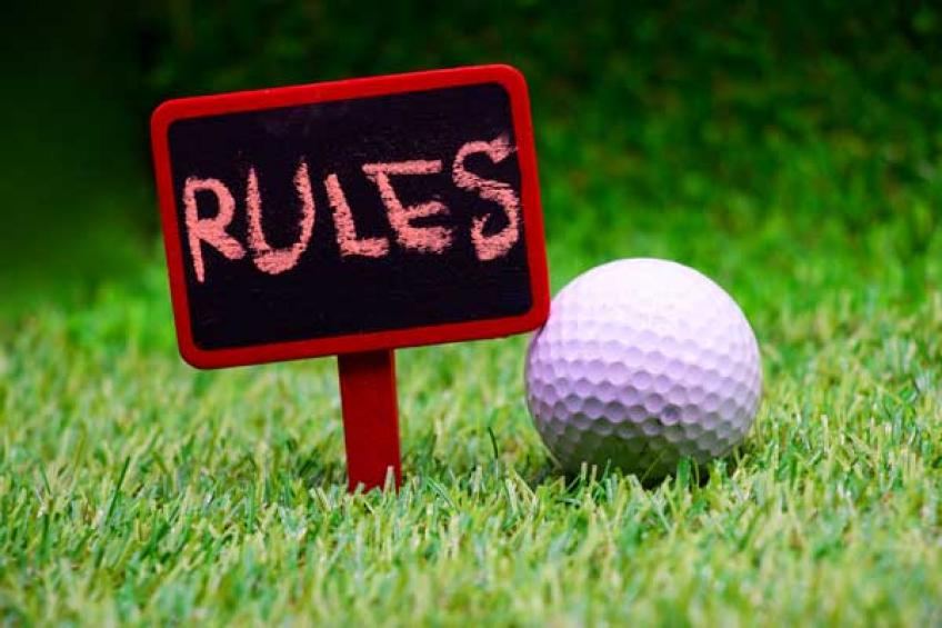 The unspoken rules of golf