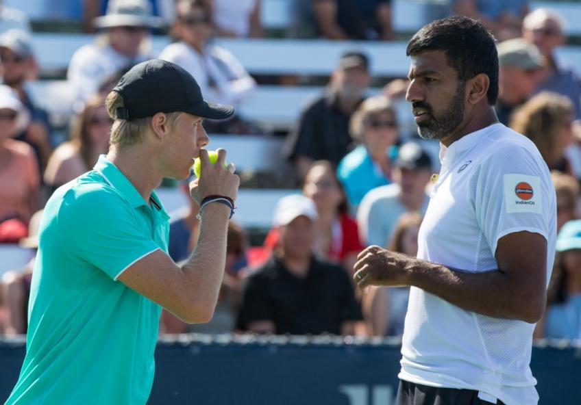 Rohan Bopanna, 40, on how he and Denis Shapovalov, 21, started doubles partnership