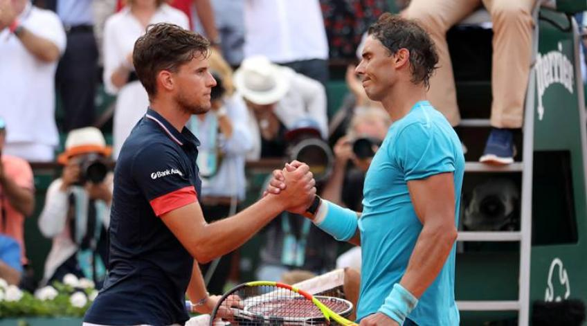 Dominic Thiem: For me, Rafael Nadal is huge favorite for French Open title