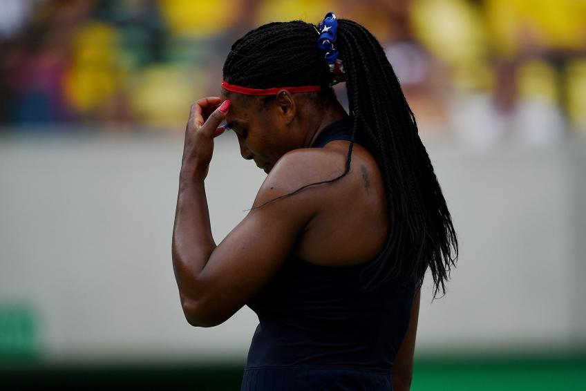 Serena Williams toughens to win over Ahn but then withdraws with Achilles injury