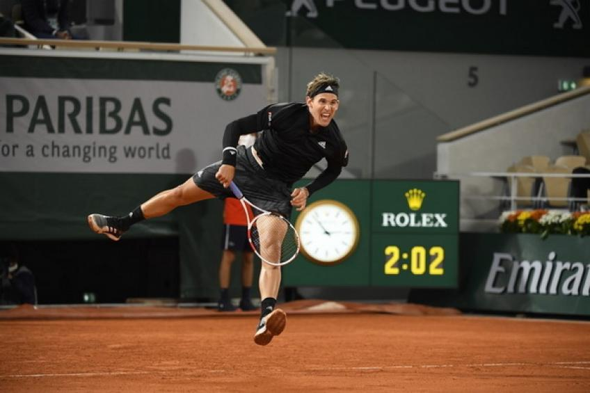 ATP Roland Garros: Dominic Thiem follows Rafael Nadal into R3 after beating Jack Sock