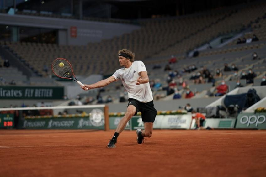 ATP Roland Garros: Alexander Zverev survives four-hour marathon against Herbert