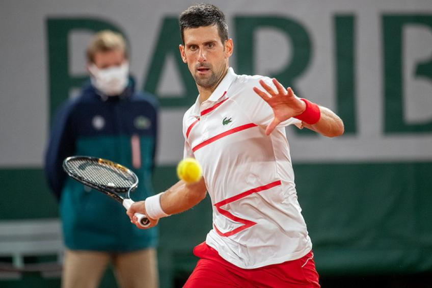Novak Djokovic matches Roger Federer's ultimate Major record in 'Club 70'