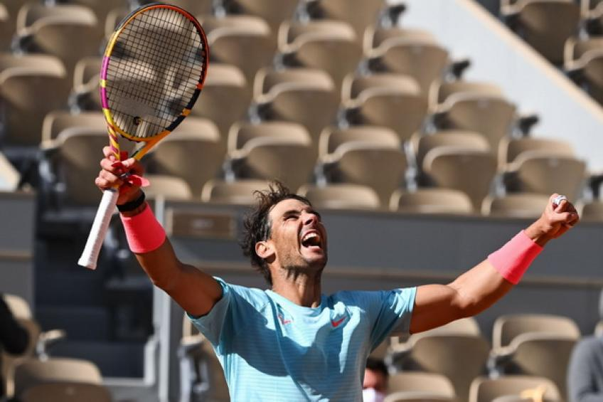Rafael Nadal moves closer to Roger Federer after passing Jimmy Connors