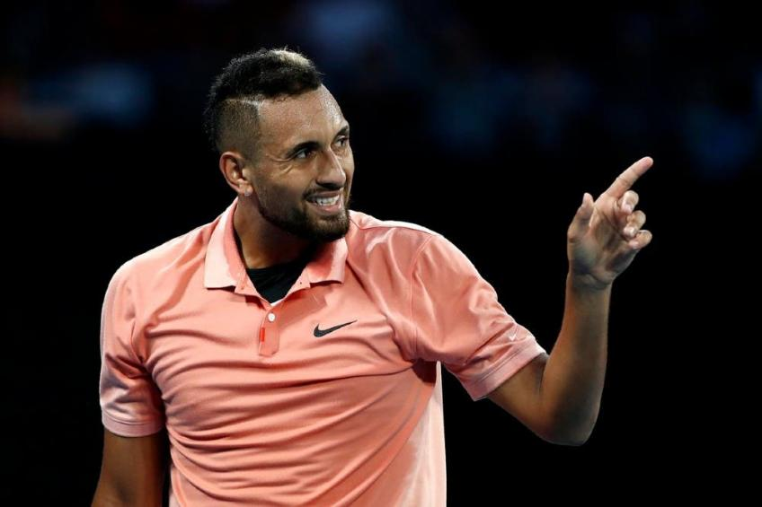 Kyrgios' social attack againt Korda after the defeat with Nadal!