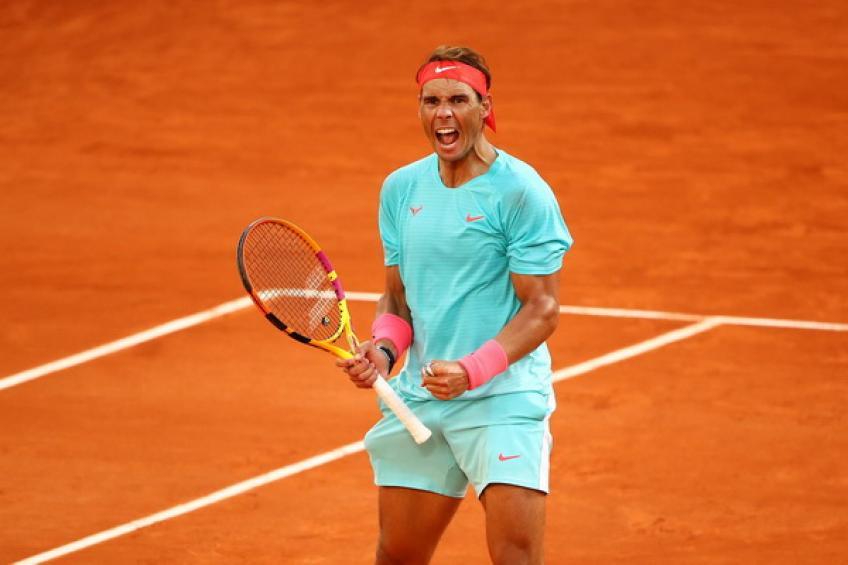 Rafael Nadal: 'I had to make changes against Diego Schwartzman after Rome defeat'