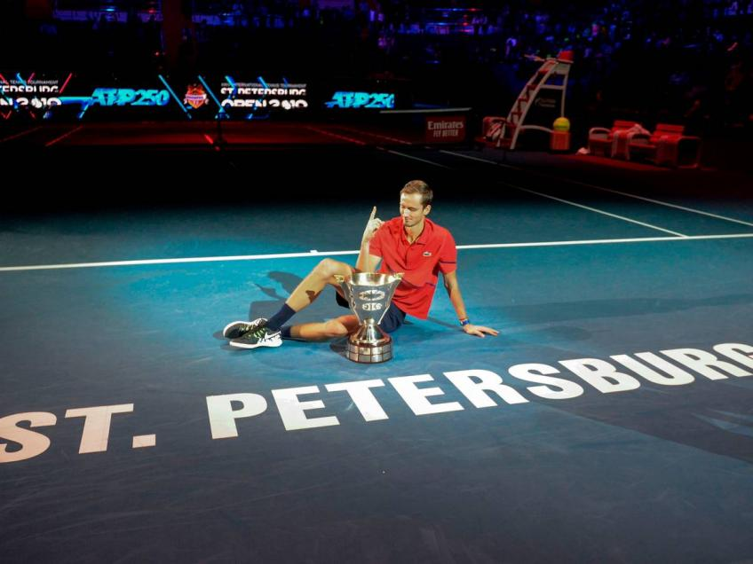 Daniil Medvedev: St. Petersburg lineup strong, difficult road to title
