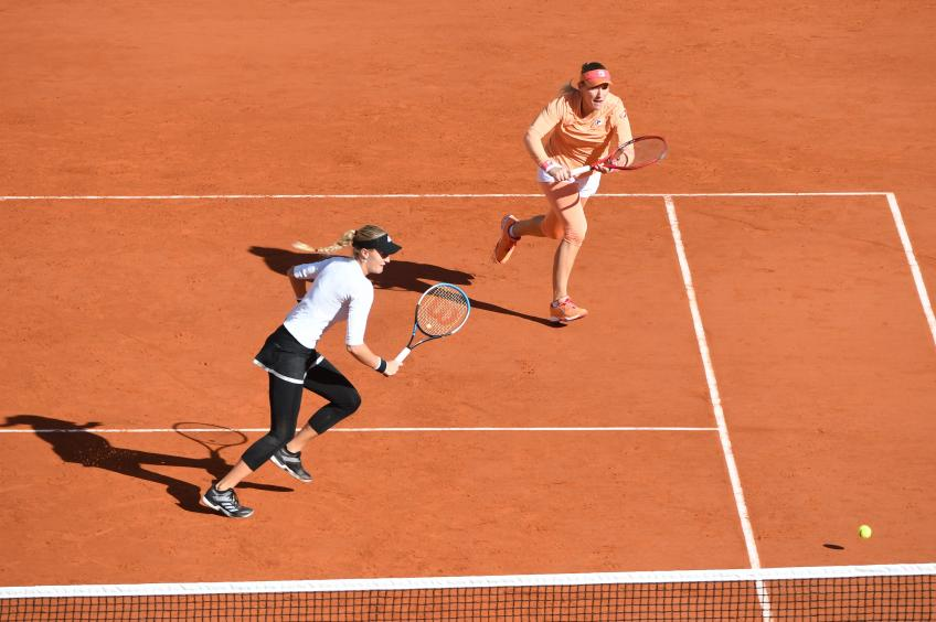 2020 Roland Garros: Kristina Mladenovic and Timea Babos raise doubles title
