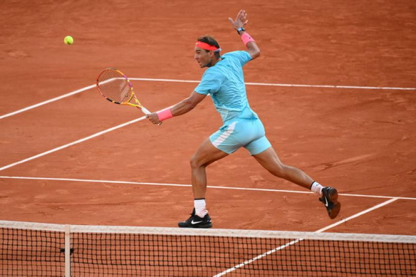 ATP Roland Garros: Rafael Nadal serves bagel to Novak Djokovic in the opening set