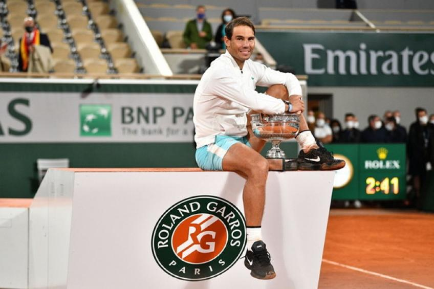 Rafael Nadal moves ahead of Roger Federer on exclusive Major record