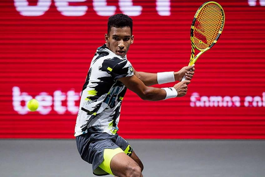 ATP Cologne: Felix Auger-Aliassime and Roberto Bautista Agut win. Cilic bows out