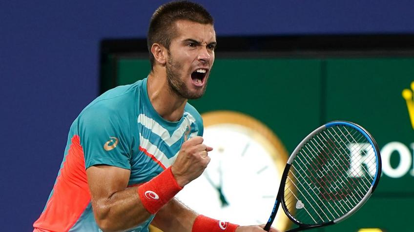 Borna Coric ready for Milos Raonic challenge at St. Petersburg