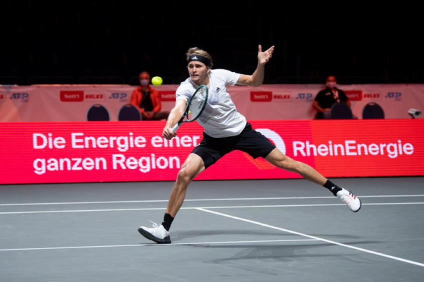 ATP Cologne: Alexander Zverev edges Alejandro Davidovich Fokina for 20th ATP final
