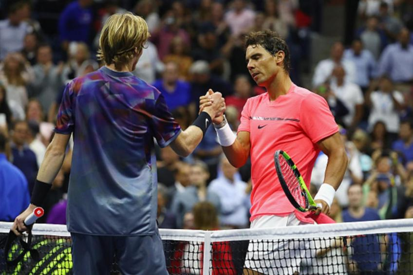 Andrey Rublev:Rafael Nadal best athlete, not even in tennis, best athlete in history