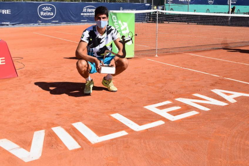 Carlos Alcaraz follows Rafael Nadal's steps and writes Challenger history