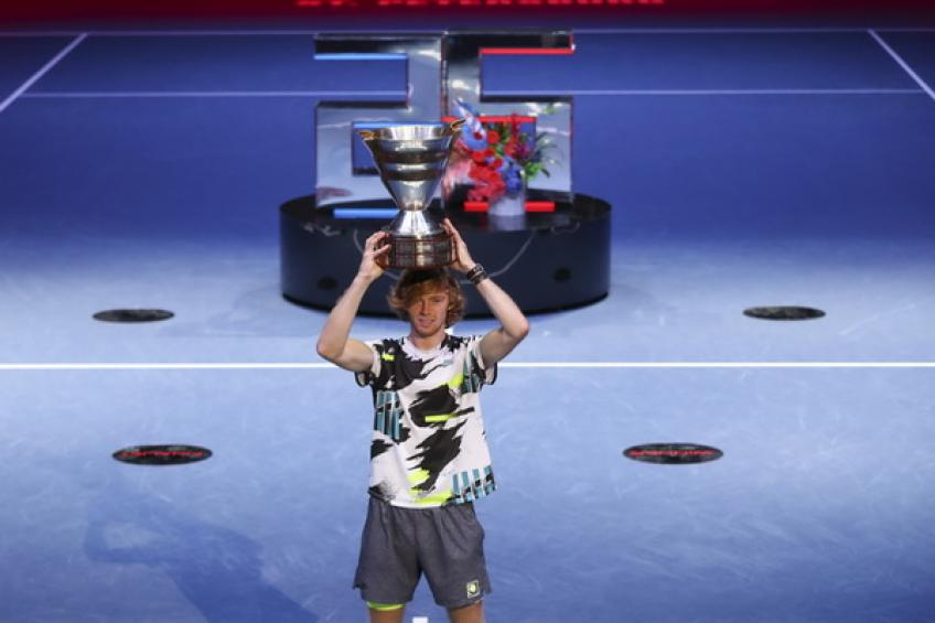 ATP Rankings: Novak Djokovic counts to 291. Andrey Rublev grabs 500 points