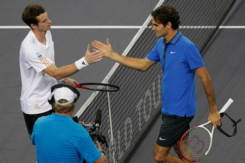 Shanghai Flashback: Roger Federer loses to Andy Murray in straight sets