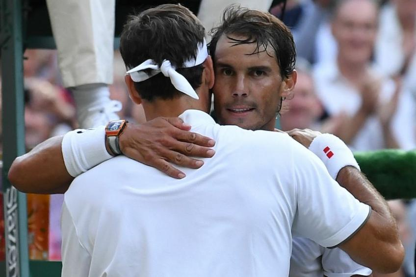 'Roger Federer's physique has little to envy that of Nadal', says French ace