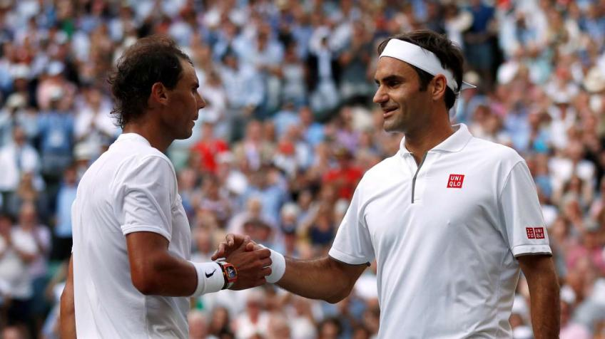 'I grew up watching the rivalry between Roger Federer and Nadal', says young ace