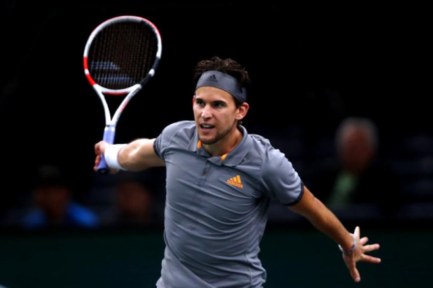 Dominic Thiem joins Novak Djokovic on Paris Masters withdrawal list