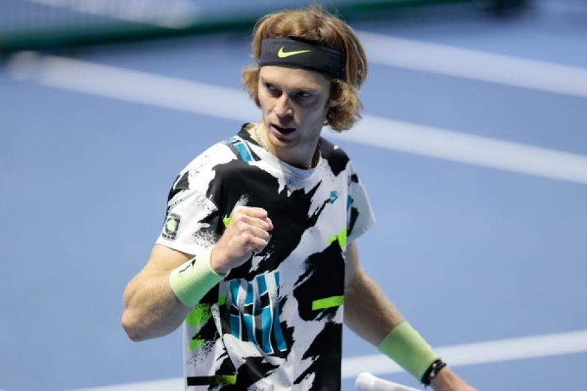 ATP Vienna: Andrey Rublev moves a win away from passing Novak Djokovic