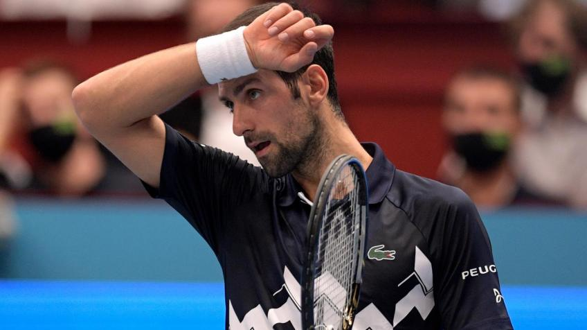 Vienna Director not happy with Novak Djokovic's comments after Lorenzo Sonego loss