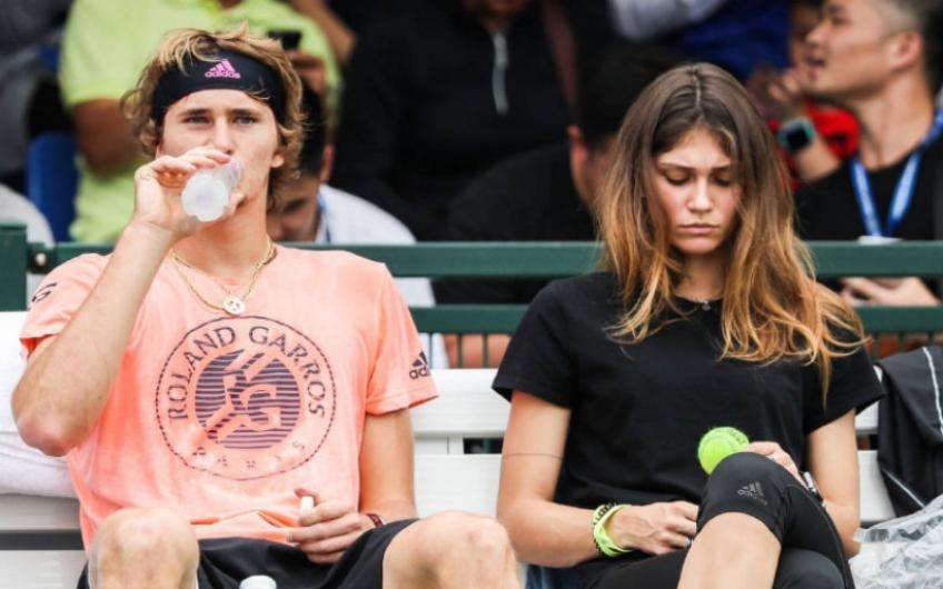 "Sharypova: ""Zverev told me that I was nobody and that he had the money"""