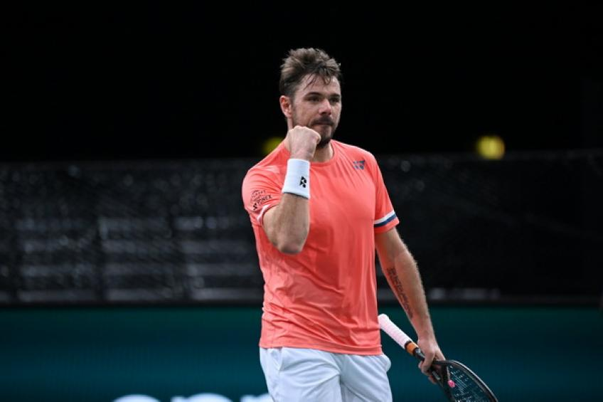 ATP Paris: Stan Wawrinka downs in-form Andrey Rublev to set Alexander Zverev clash