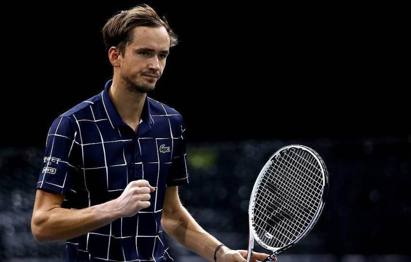 Daniil Medvedev 'thrilled' with his performance against Diego Schwartzman at Paris