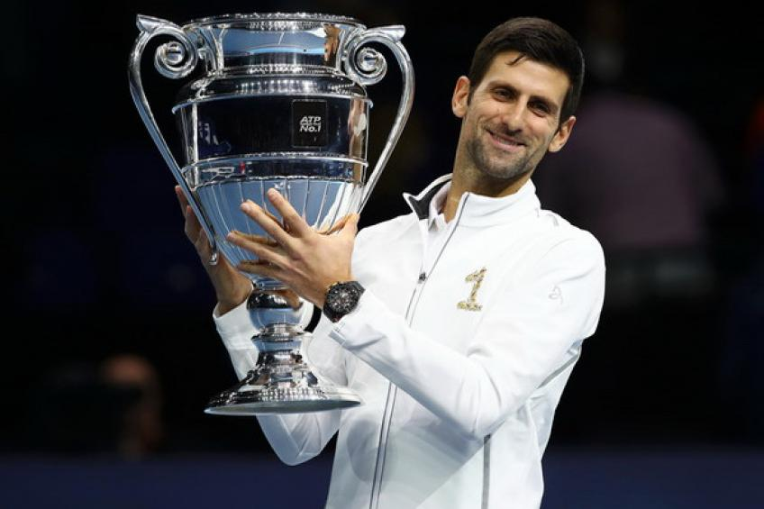 Novak Djokovic secures year-end honor ahead of Roger Federer, Rafael Nadal