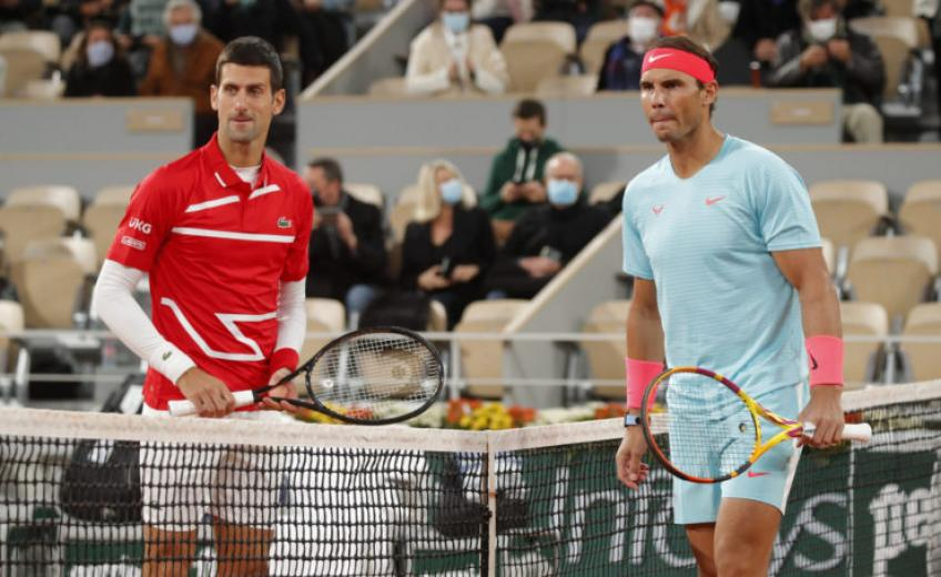 'That's why I separate Rafael Nadal and Novak Djokovic a bit', says Top 10