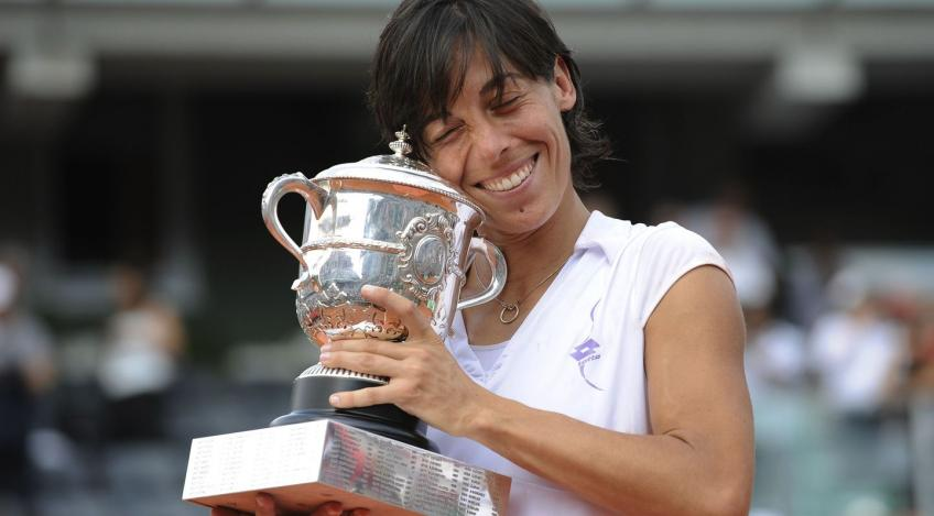 "Francesca Schiavone: ""Women's tennis is much more beautiful to watch"""