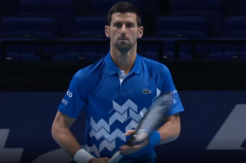 ATP Finals: Novak Djokovic downs Diego Schwartzman to kick off title chase