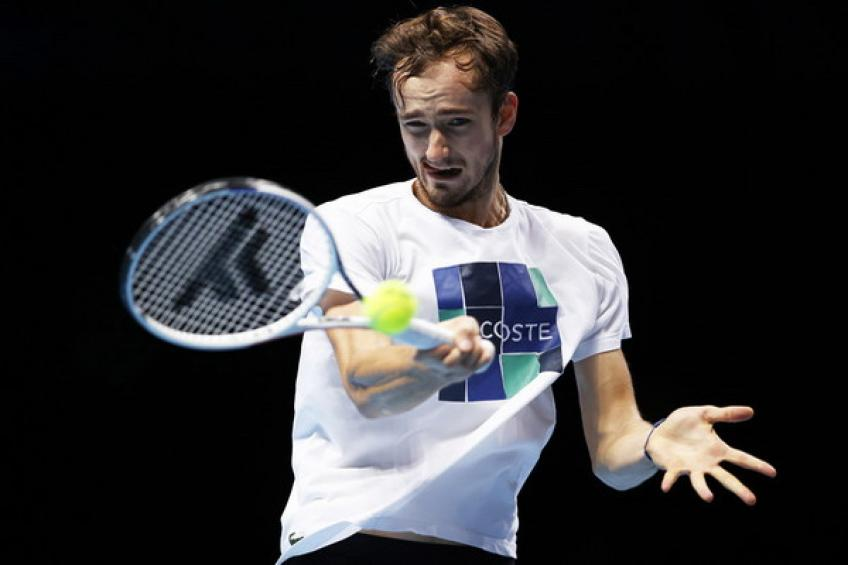 ATP Finals: Daniil Medvedev sinks Alexander Zverev to set Novak Djokovic clash