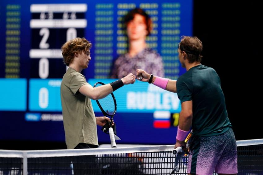 Andy Murray: 'Rafael Nadal served great against Andrey Rublev, who was a bit anxious'