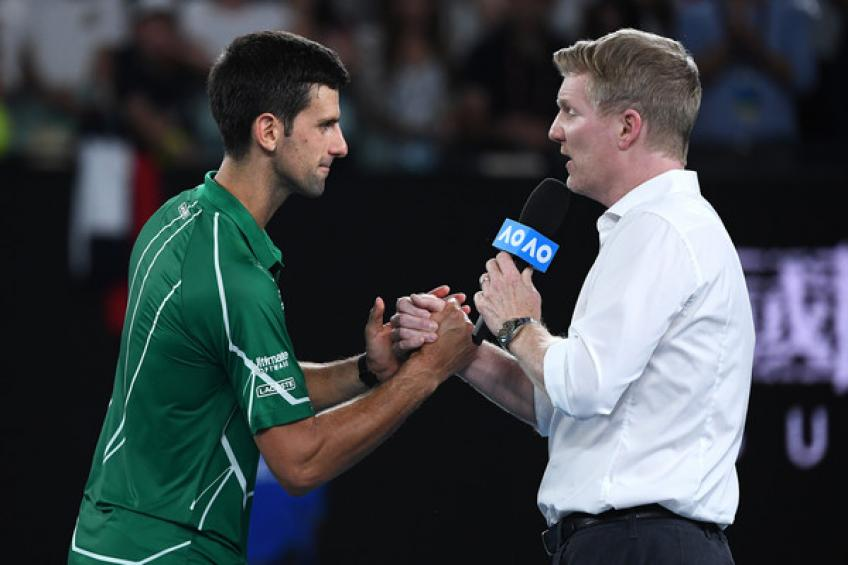 Jim Courier: 'Novak Djokovic will win more Majors than Roger Federer, Rafael Nadal'