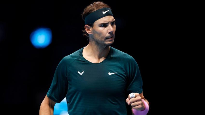 Rafael Nadal: I'm just excited to be in semifinals of Nitto ATP Finals