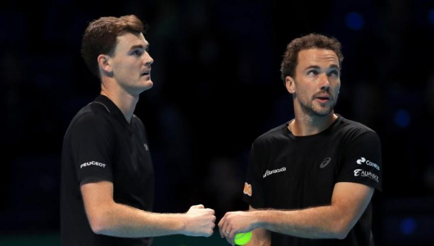 Mate Pavic and Bruno Soares End 2020 as Best Tennis Doubles Team