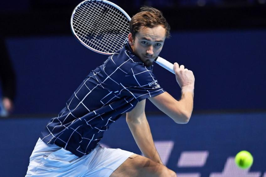 ATP Finals: Daniil Medvedev overpowers Rafael Nadal to set Thiem clash