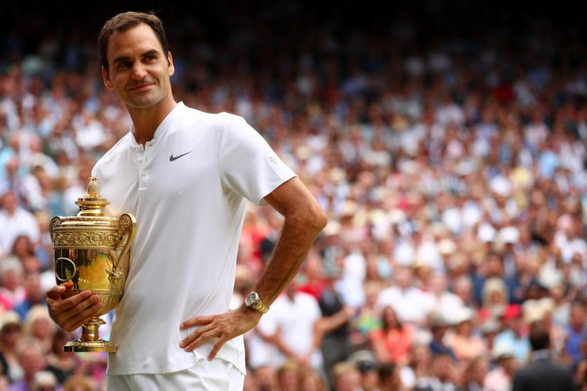 The five great opponents of a tennis player