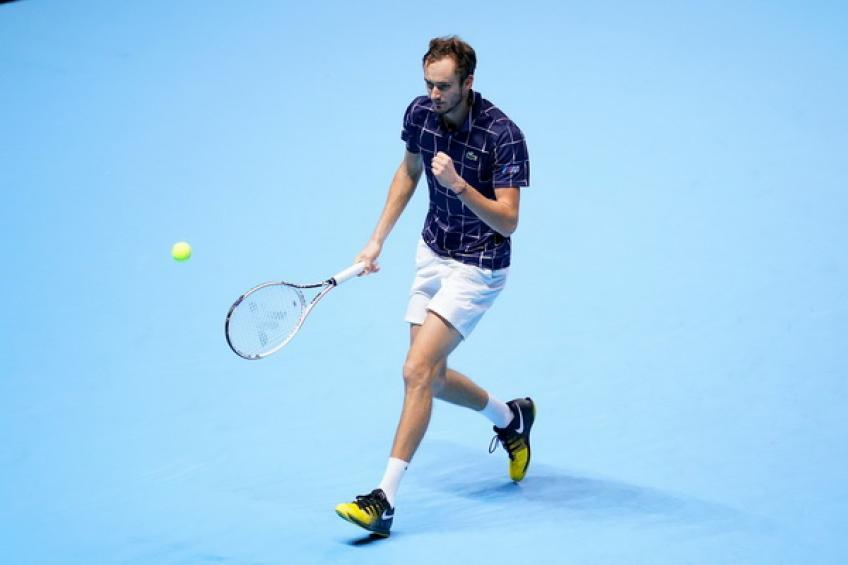 ATP Finals: Daniil Medvedev battles past Dominic Thiem to write history
