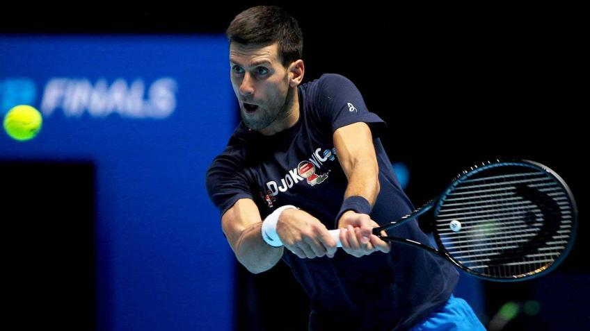 'I was a little worried about Novak Djokovic', says his coach
