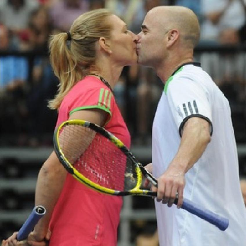 Steffi Graf and Andre Agassi look back at their careers