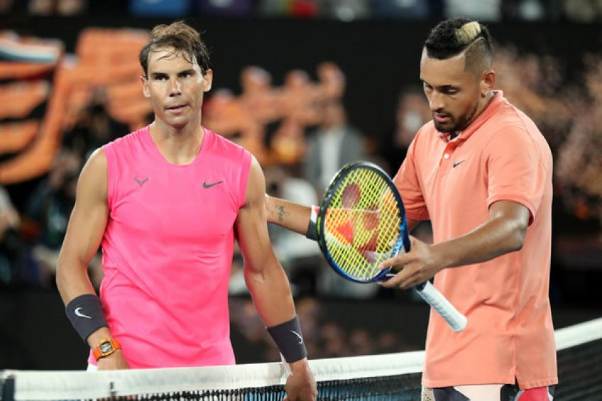 2020 in review: Rafael Nadal edges Nick Kyrgios in four exciting sets