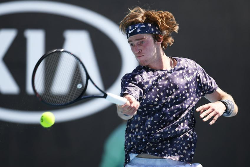 2020 in Review: Andrey Rublev downs David Goffin, setting eyes on Alexander Zverev