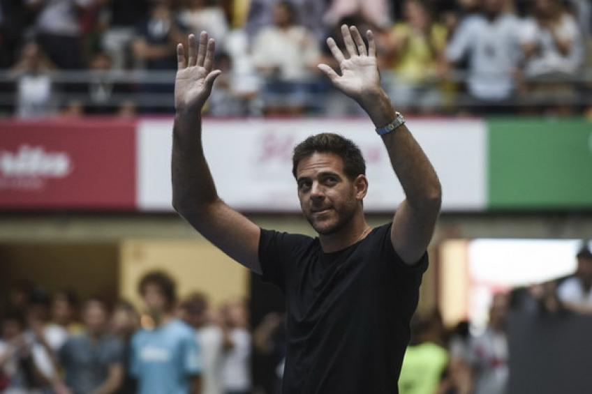 Juan Martin del Potro turns to innovative therapy to heel his troubled knee