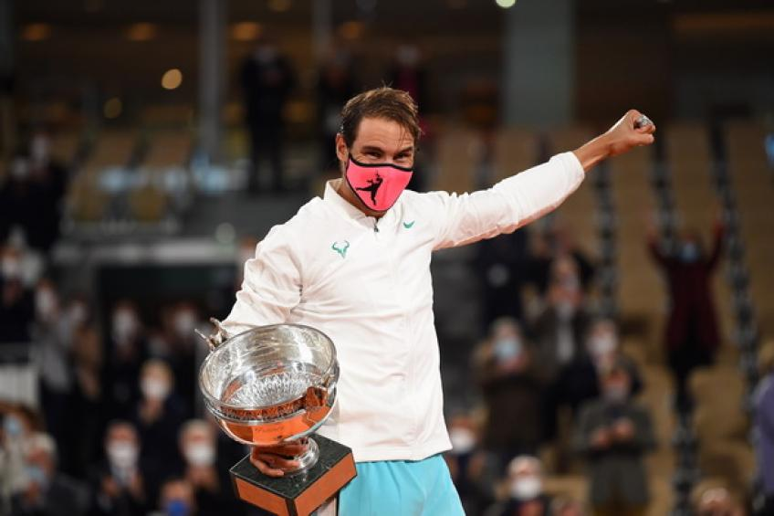 Rafael Nadal moves ahead of Roger Federer on ultimate ranking record
