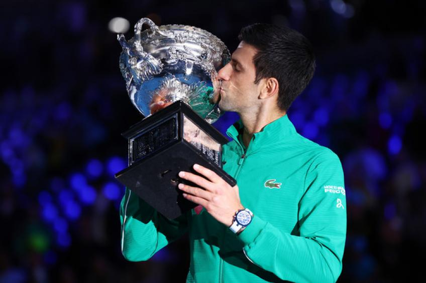 Novak Djokovic catches Jimmy Connors and moves closer to Roger Federer